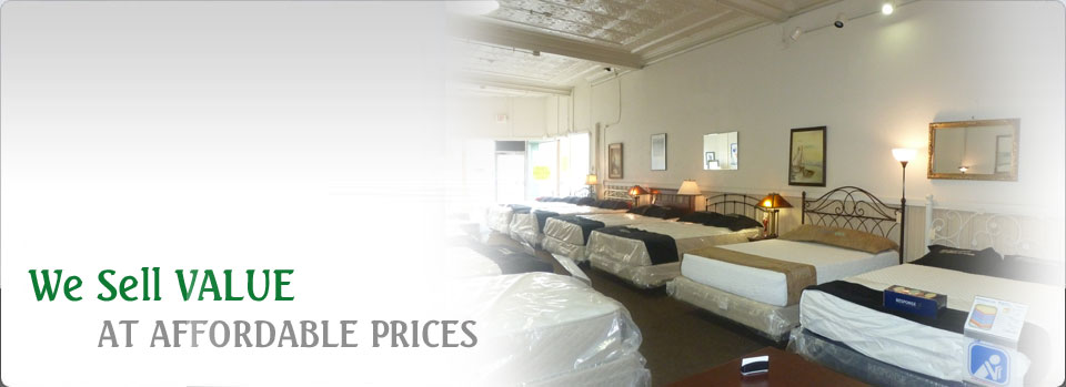we sell value at affordable prices